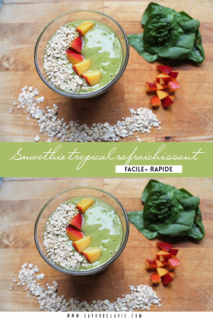 smoothie-tropical-rafraichissant-rapide