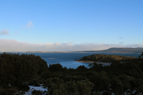 great lake tasmanie lookout