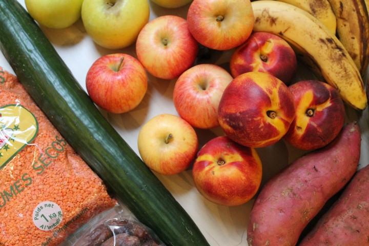 haul nourriture saine
