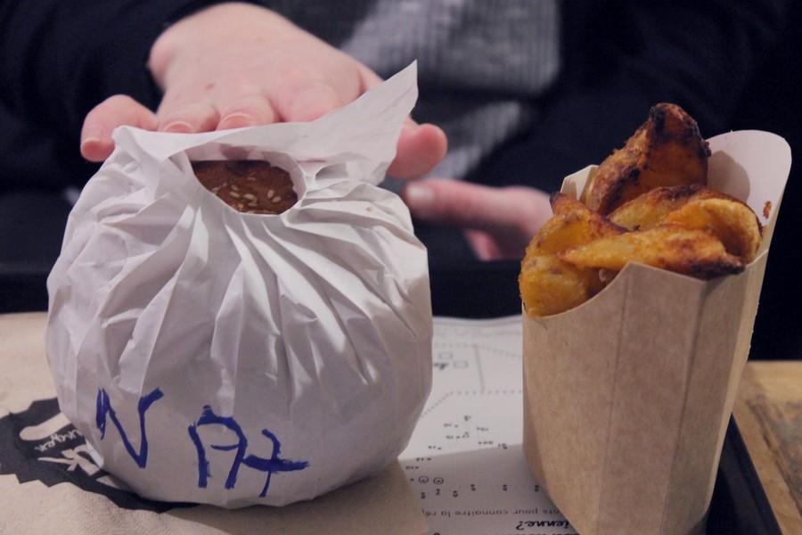 hank vegan burger rue des archives 75003 paris