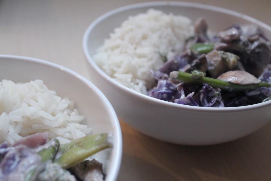 poelee de legumes a la creme