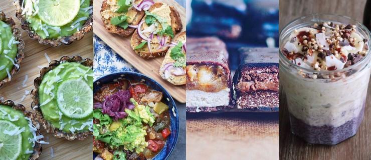 Top 4 comptes Instagram de recettes vegan inspirants