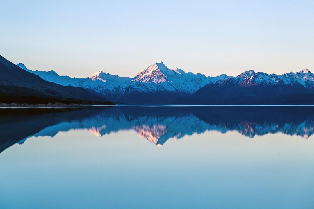 alpes du sud nouvelle zelande region montagneuse