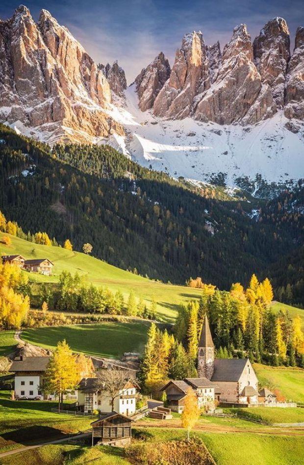 dolomites italie région montagneuse
