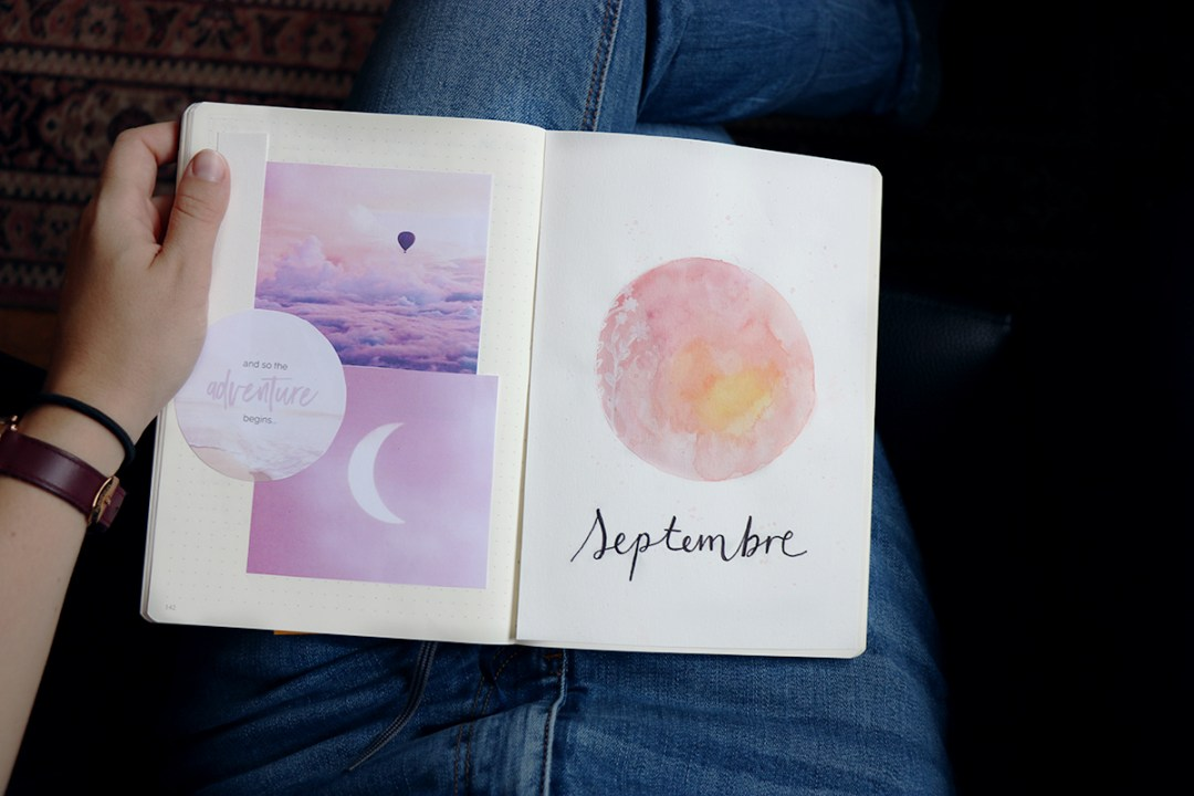 bullet journal septembre 2018
