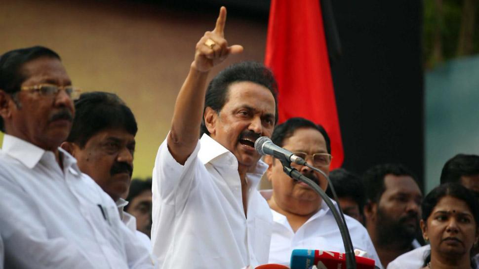 DMK leader