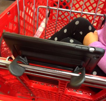 The hooks also work on shopping carts!