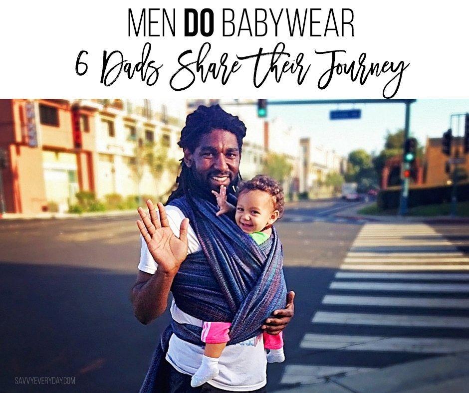 men do babywear pin