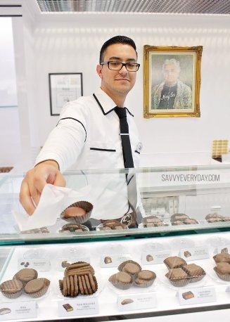 handingchocolate