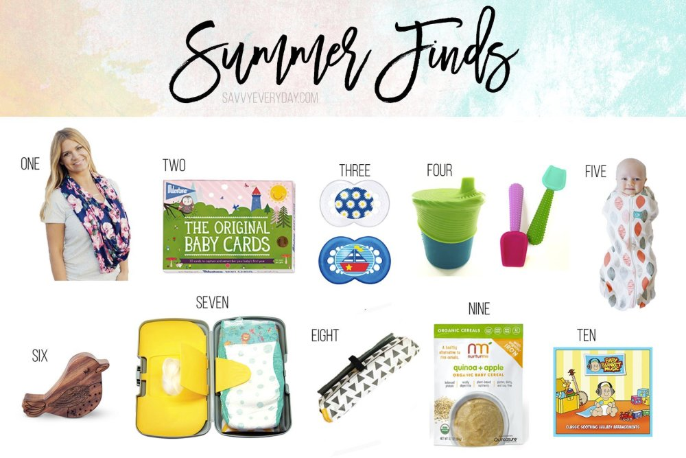 Summer Kiddo Product Finds