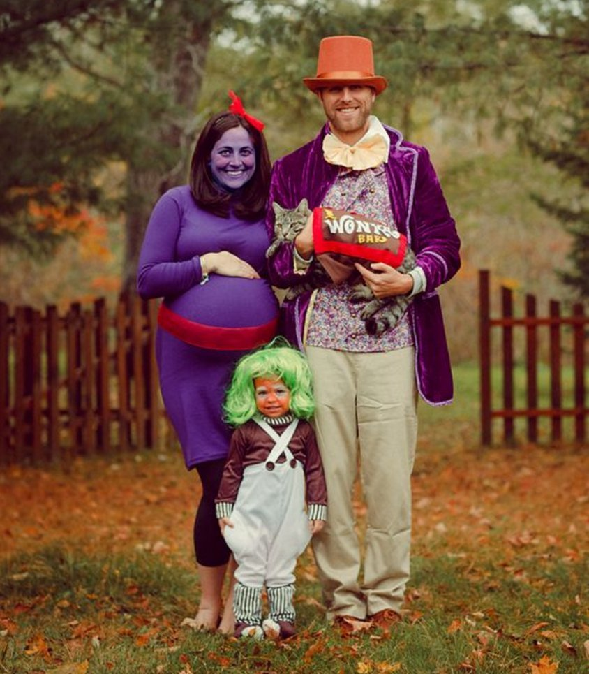 Violet Beauregard pregnancy costume