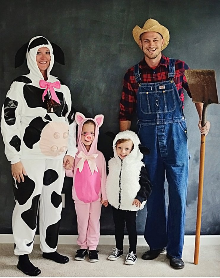 farm family halloween costume