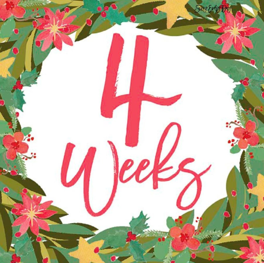 Click here to download December's week-by-week bump cards
