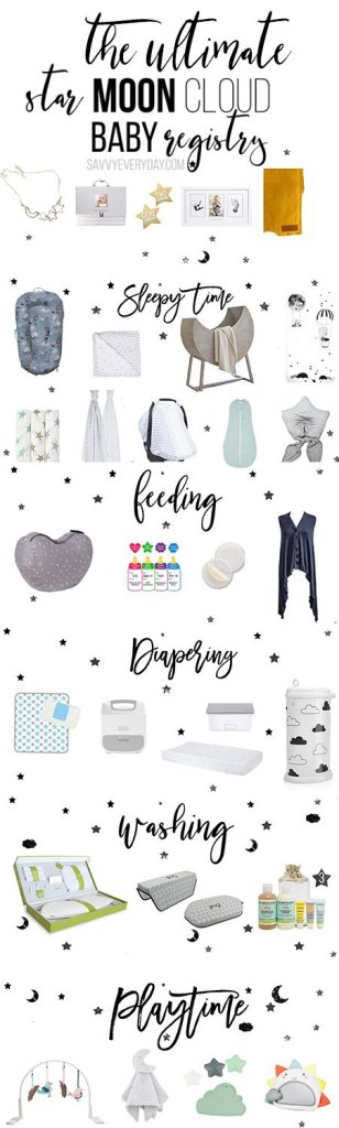 The Ultimate Star Moon and Cloud Baby Registry