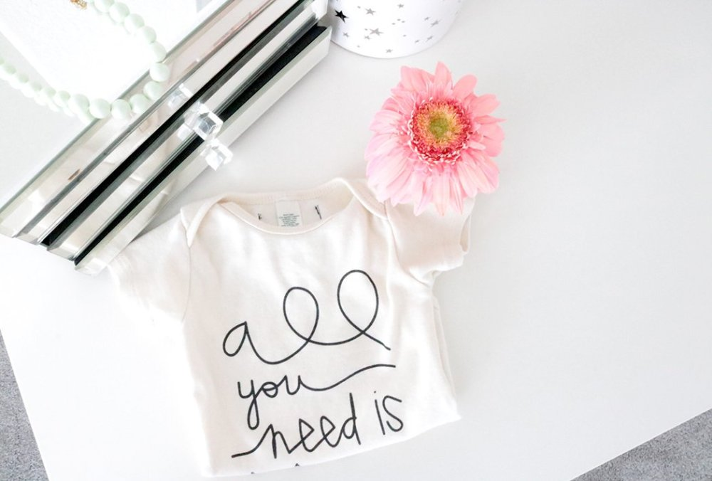 shirt and flower for Mother's Day