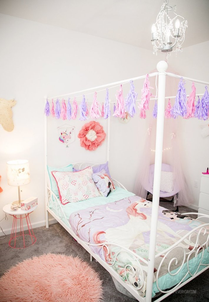 bright unicorn room view. Whimsical Unicorn Bedroom Inspired by Mouse   Magpie   Savvy Every