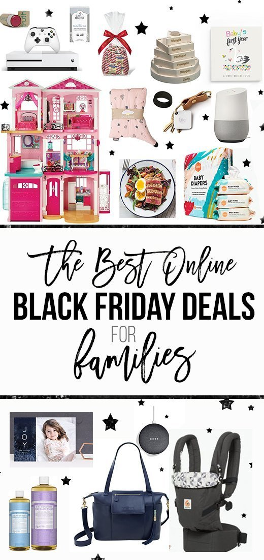 These are the best online Black Friday deals for families!