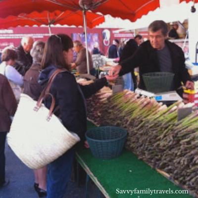 Farmers Market Aix-en-Provence France