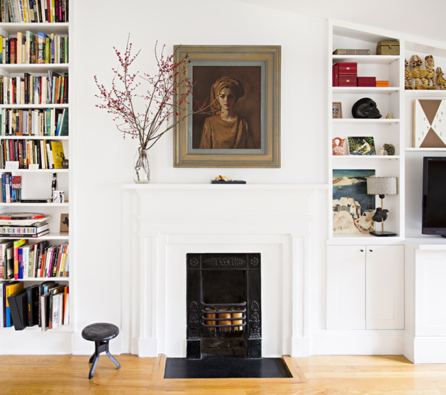 Step Inside an Interior Designer's Greenwich Village Town House • Ariel Ashe via @SavvyHome