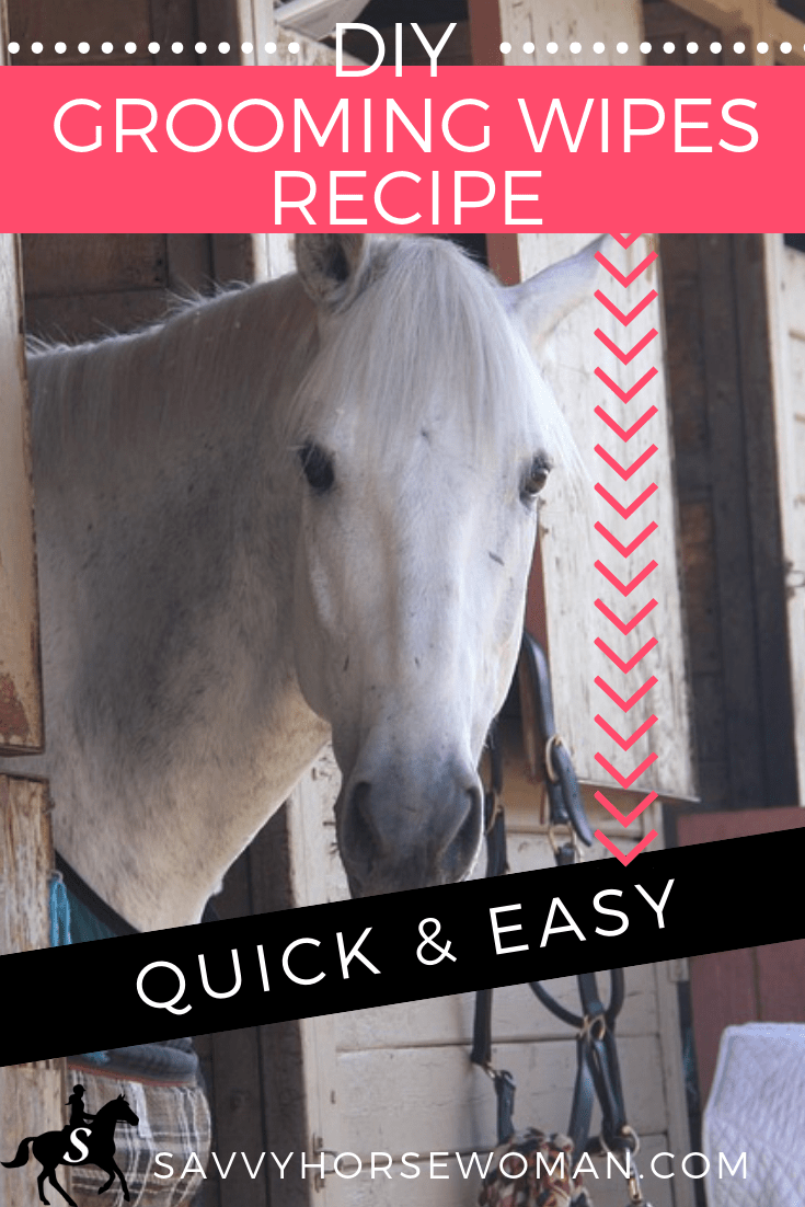 DIY Horse Grooming Wipes Recipe