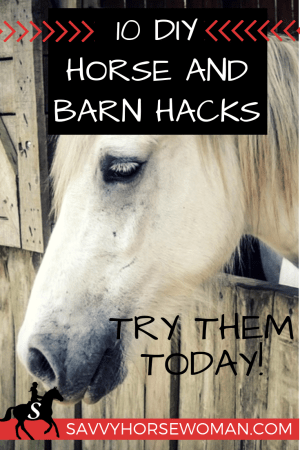 10 DIY Horse and Barn Hacks - Try Them Today! Savvy Horsewoman