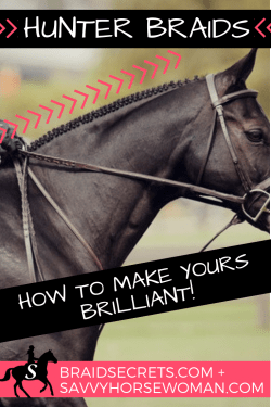Hunter Braids: How to Make Yours Brilliant - Horse Braiding Tips