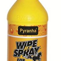 PYRANHA Wipe N Spray Fly Protection ALL SIZES (1 Bottle)