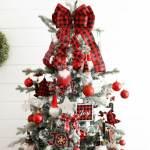 Buffalo Check Christmas Tree Savvy Saving Couple