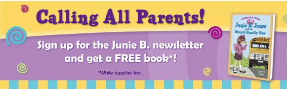 Free Junie B Jones Book