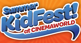 FREE Movies for Kids at CinemaWorld