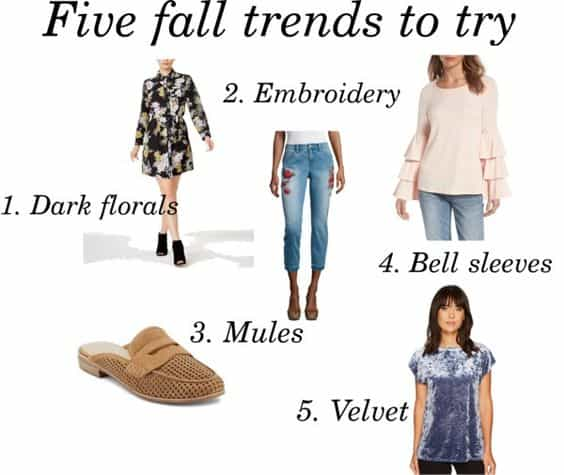 Five fall trends to try
