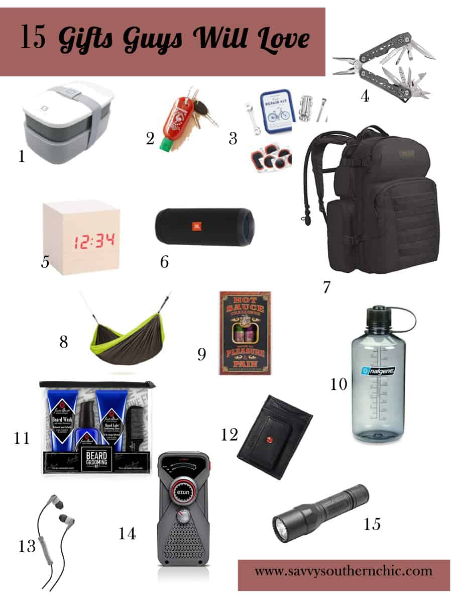 15 gifts guys will love