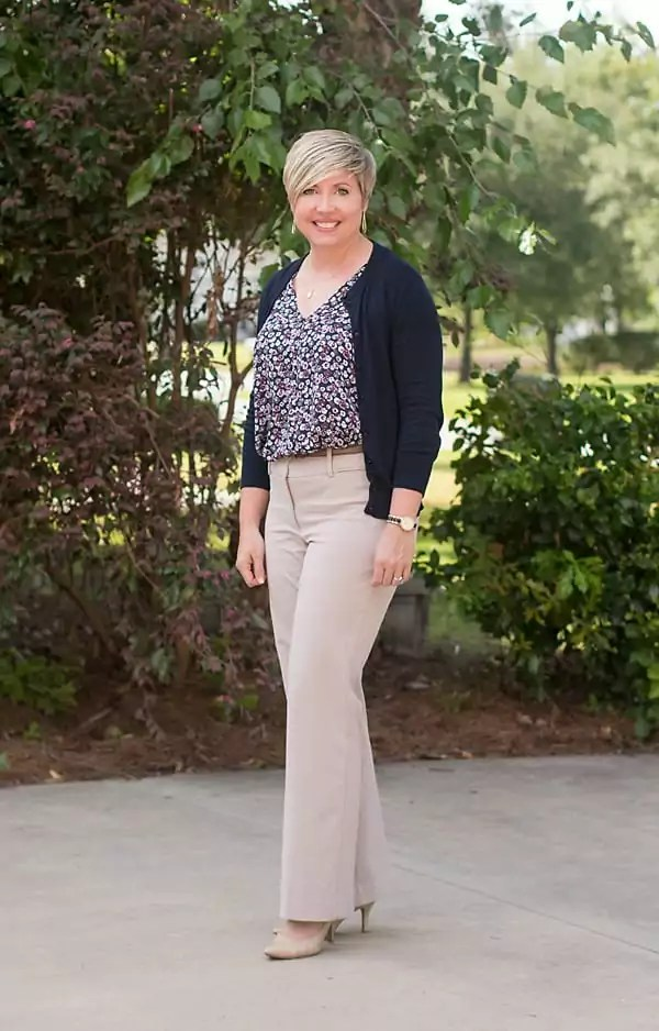 summer cardigan work look, cardigan outfit, office clothes
