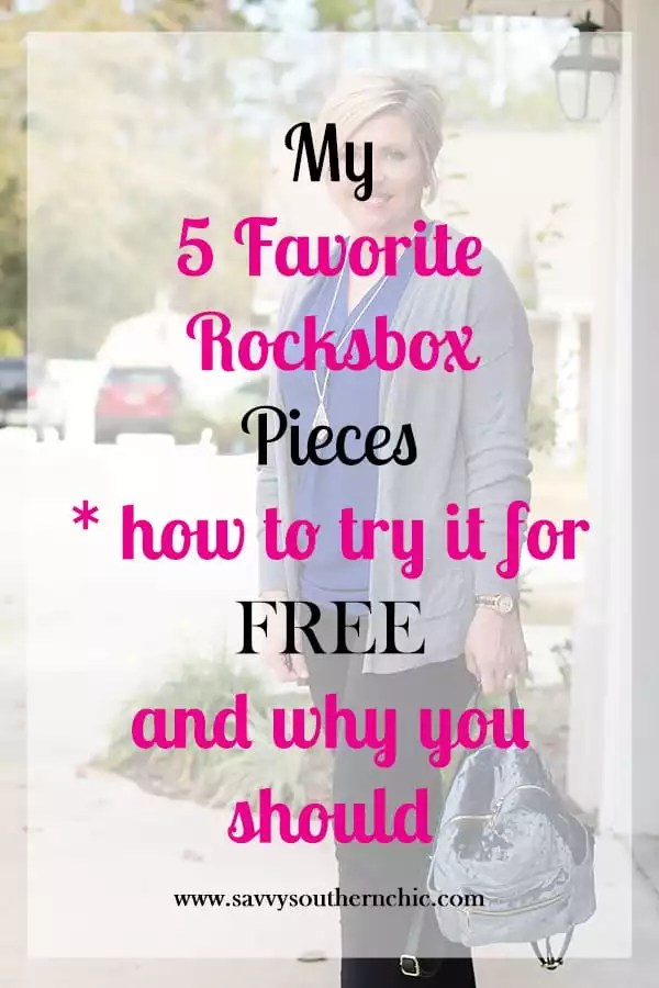 5 favorite Rocksbox pieces