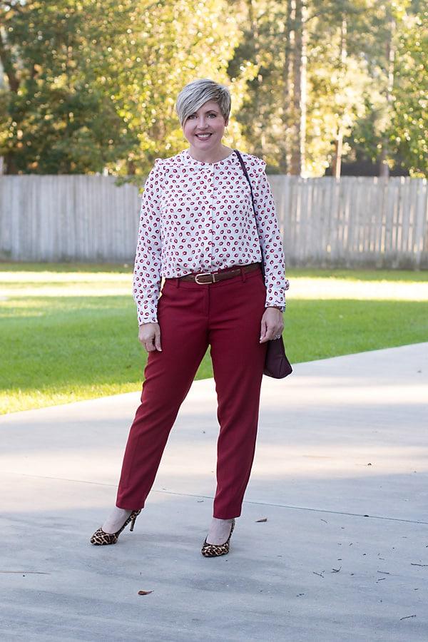 women's work attire