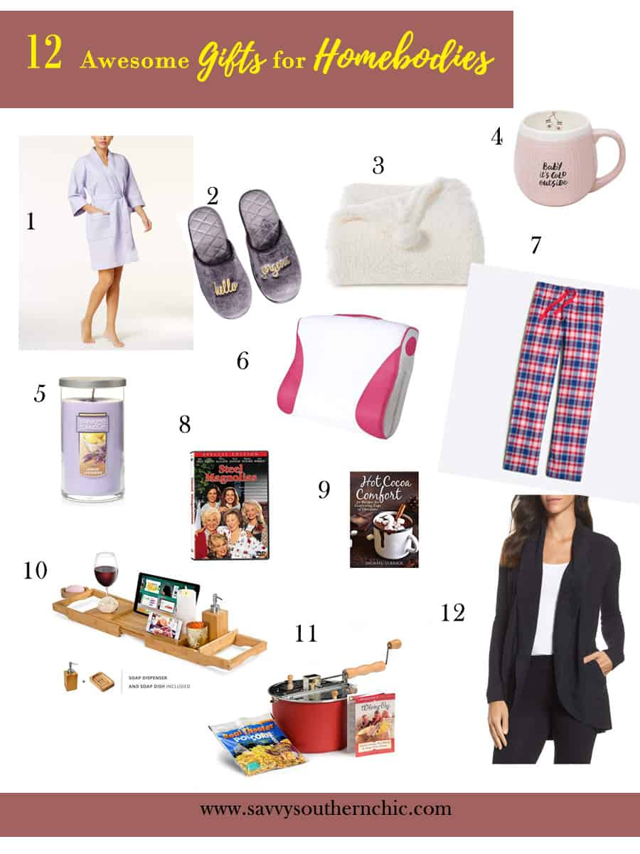 gifts for homebodies, gift giving guide