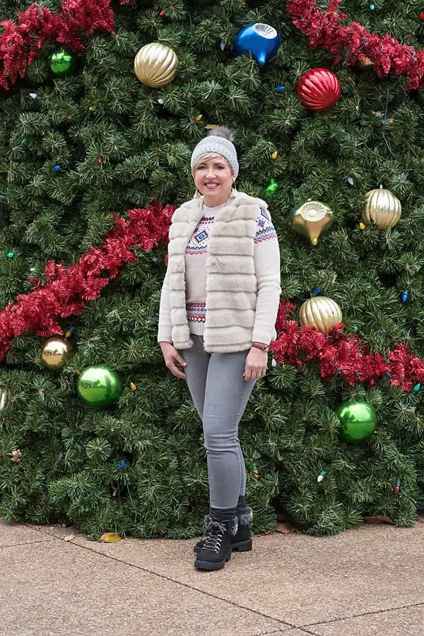 fashion blogger, winter outfit