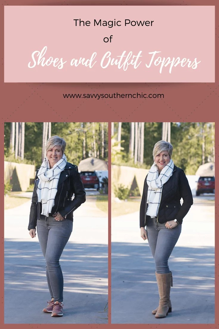 The Magic Power of Shoes and Outfit Toppers