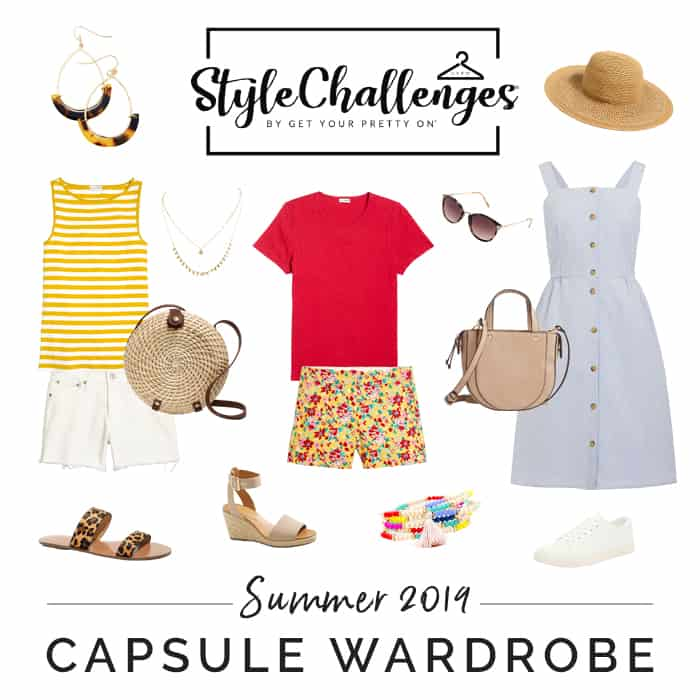 summer style challenge capsule wardrobe