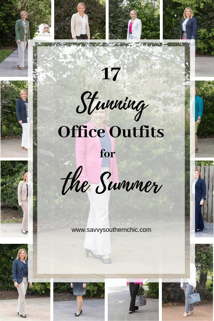 17 stunning office outfits for the summer