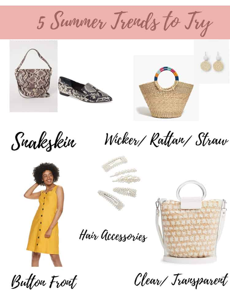 5 summer trends to try