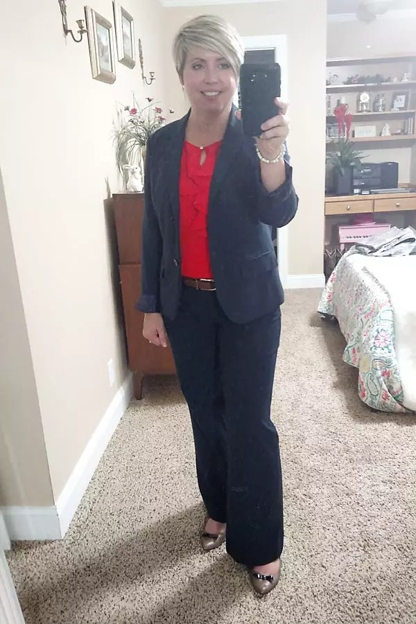 what I wore to work
