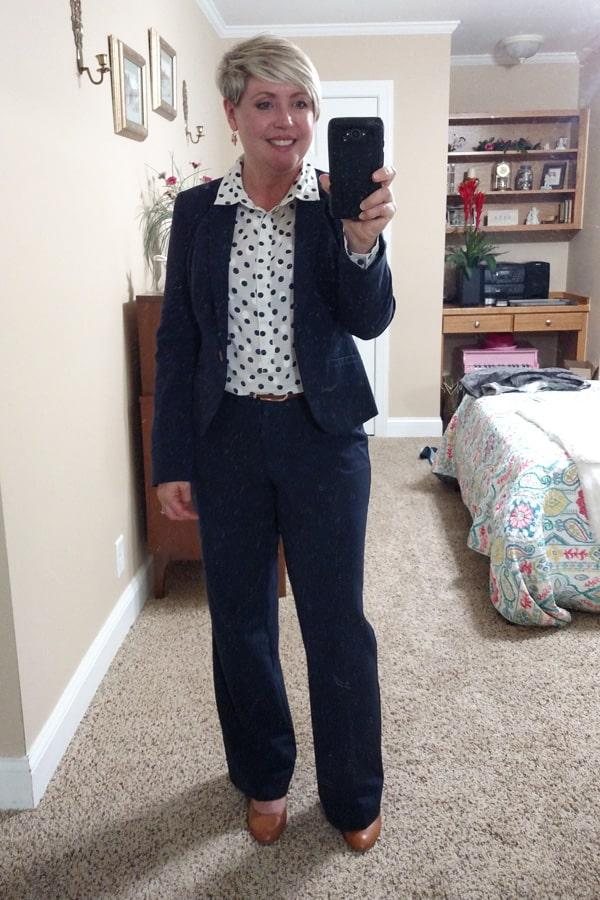 women's matching suit