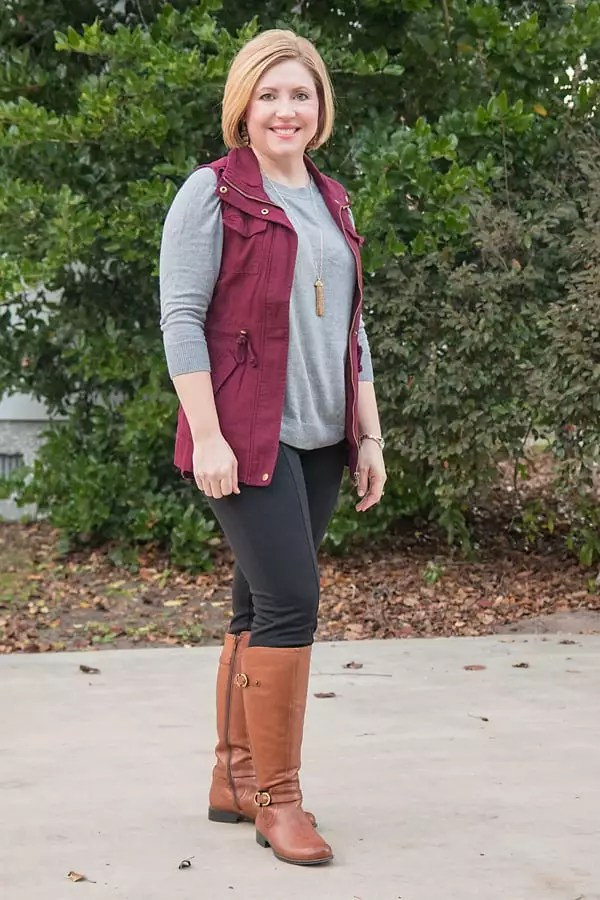riding boots casual outfit