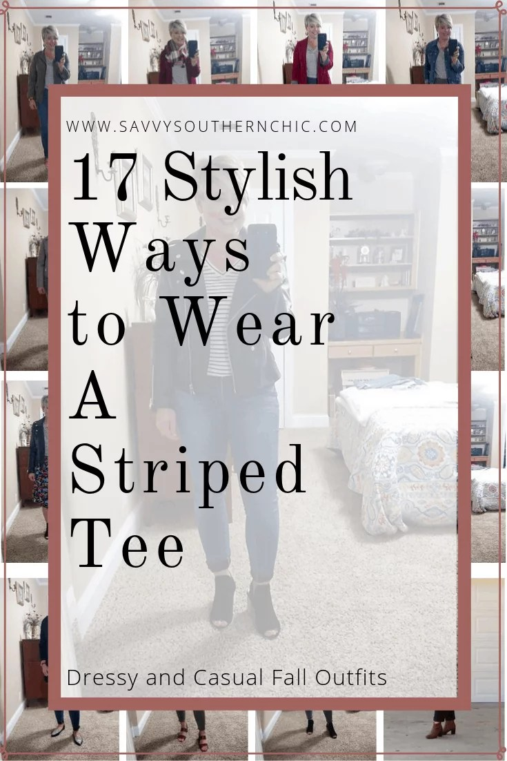 17 stylish ways to wear a striped top
