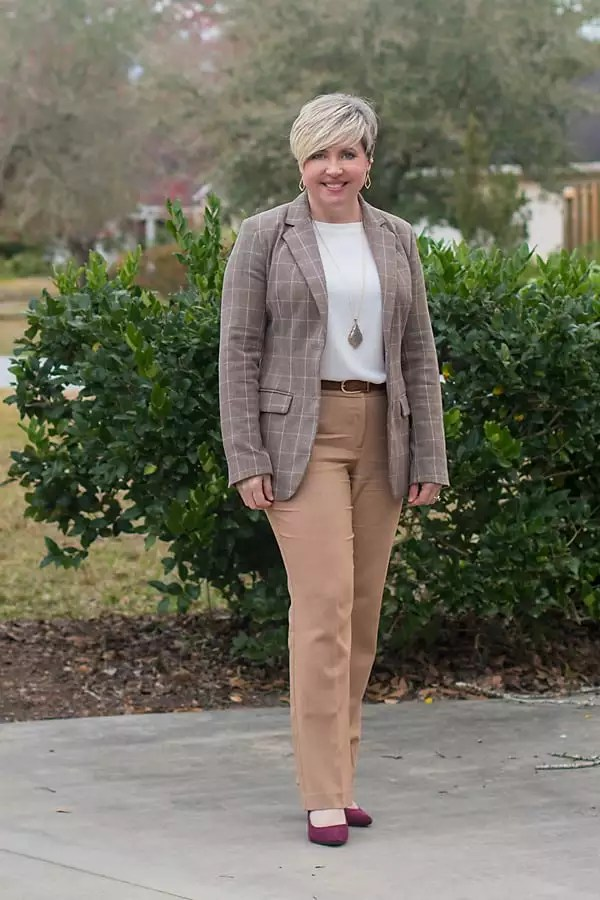 neutrals for spring, spring transition outfit