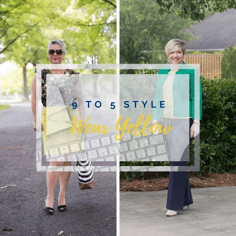 9 to 5 style, how to wear yellow