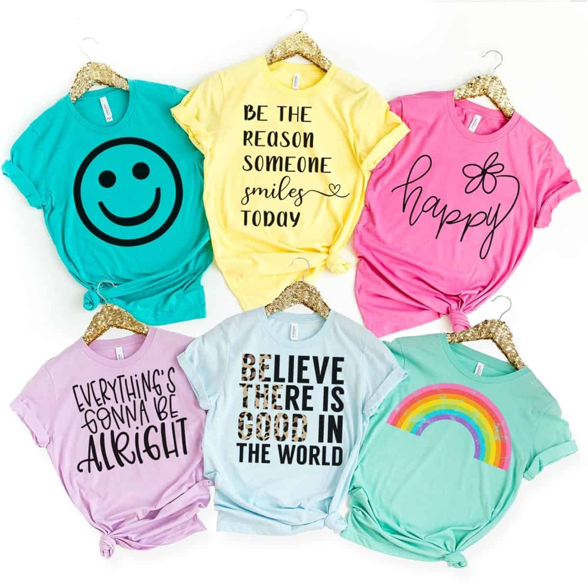 positive message tees