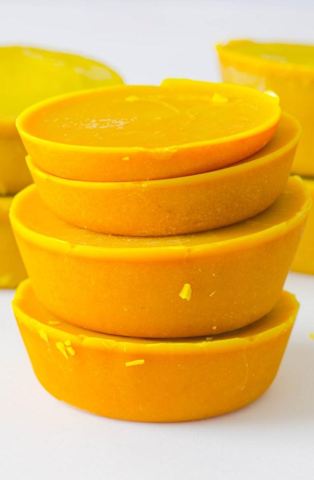 Turmeric Body Scrub Cups
