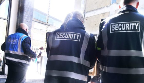 Security Guard Events
